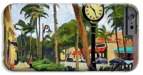 5th Avenue Naples Florida IPhone 6s Case by Christine Hopkins