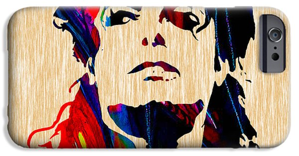 Michael Jackson Painting IPhone 6s Case by Marvin Blaine