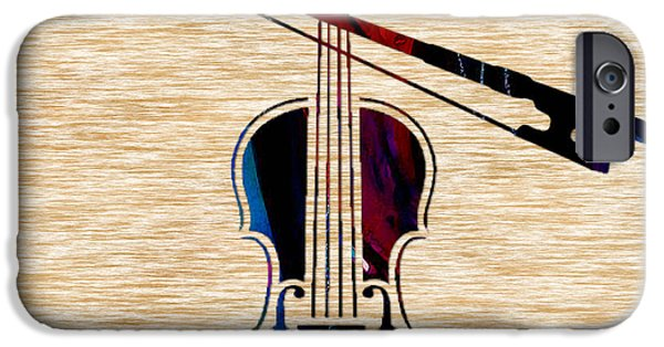 Violin And Bow IPhone 6s Case by Marvin Blaine