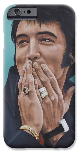 69 Press Conference IPhone Case by Rob De Vries