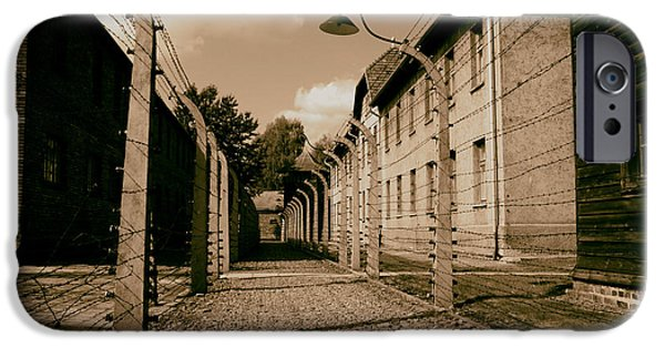 Auschwitz  IPhone Case by Mountain Dreams