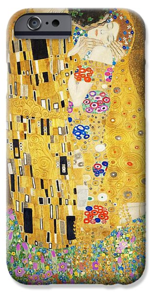 The Kiss IPhone Case by Gustav Klimt