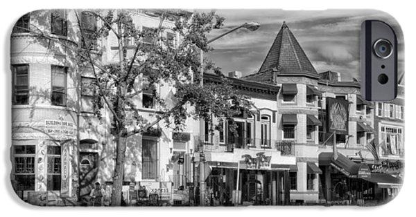Adams Morgan Neighborhood - Washington D C IPhone Case by Mountain Dreams