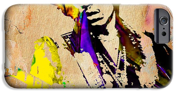 Jimi Hendrix Painting IPhone 6s Case by Marvin Blaine