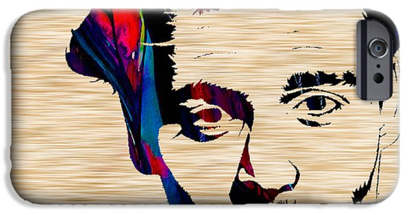 Johnny Depp IPhone 6s Case by Marvin Blaine
