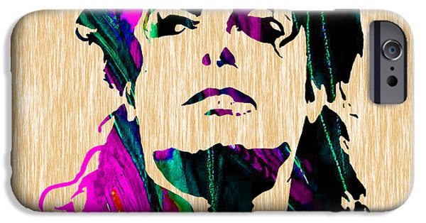 Michael Jackson Painting IPhone Case by Marvin Blaine