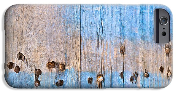Blue Wood IPhone 6s Case by Tom Gowanlock