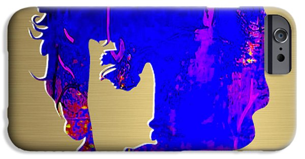 Bob Dylan Gold Series IPhone 6s Case by Marvin Blaine