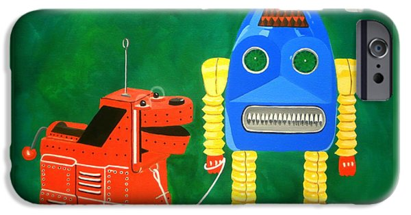 A Boy And His Dog IPhone Case by Karyn Robinson
