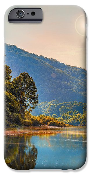 A Buffalo River Morning  IPhone Case by Bill Tiepelman