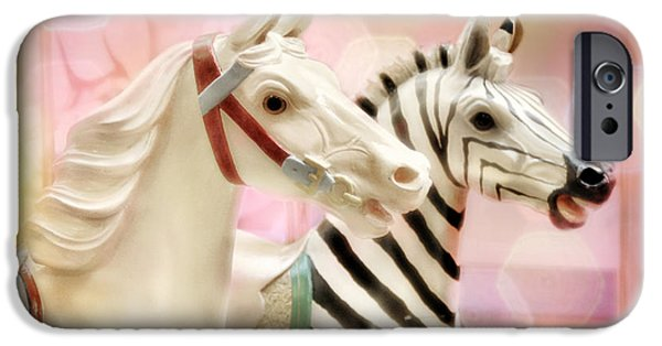 A Close Race IPhone Case by Amy Tyler