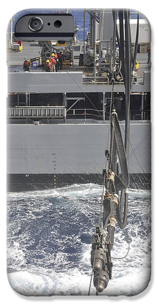A Fuel Probe Is Connected From Usns IPhone Case by Stocktrek Images