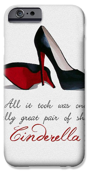 A Great Pair Of Shoes IPhone Case by Rebecca Jenkins