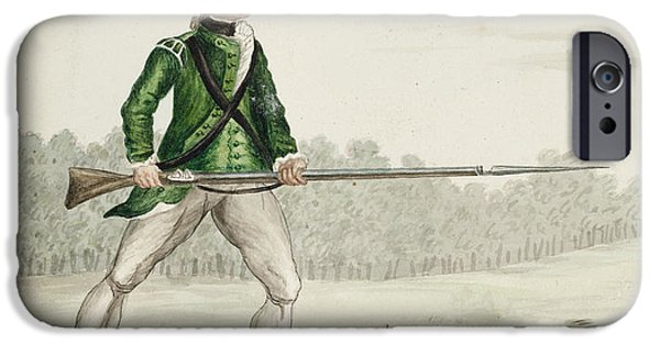 A Grenadier Of The Queen's Rangers IPhone Case by British Library