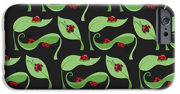 A Litte Bug IPhone 6s Case by Debra  Miller