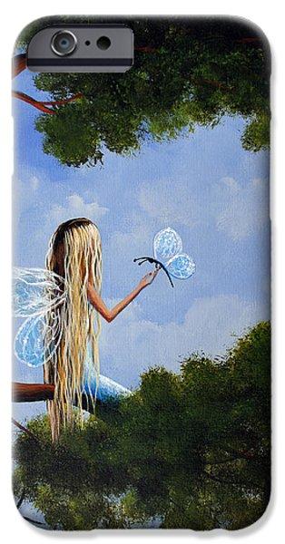 A Magical Daydream Original Artwork IPhone Case by Shawna Erback