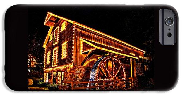 A Mill In Lights IPhone Case by DJ Florek