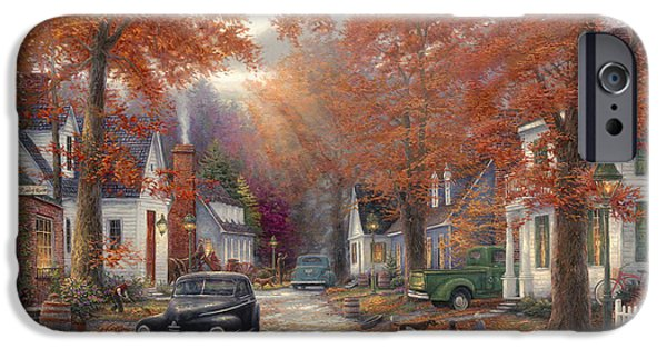 A Moment On Memory Lane IPhone Case by Chuck Pinson