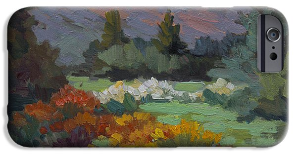 A Sunny Afternoon In Santa Barbara IPhone Case by Diane McClary