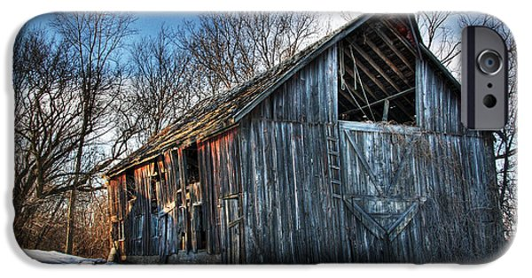 A Time Gone By....  Country Barn IPhone Case by Wayne Moran