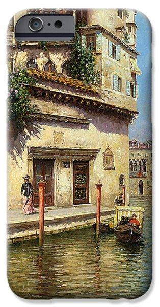 A Venetian Backwater IPhone 6s Case by Rubens Santoro
