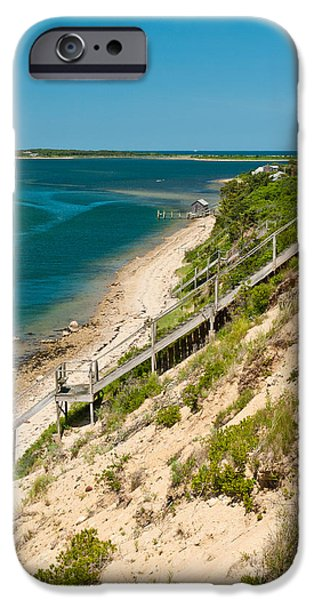 A View From Chappaquiddick Island Marthas Vineyard Massachusetts IPhone Case by Michelle Wiarda