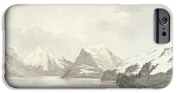 A View In Prince William Sound IPhone Case by British Library