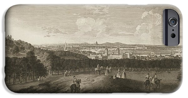 A View Of Greenwich Park IPhone Case by British Library