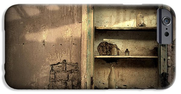 Abandoned Kitchen Cabinet IPhone Case by RicardMN Photography