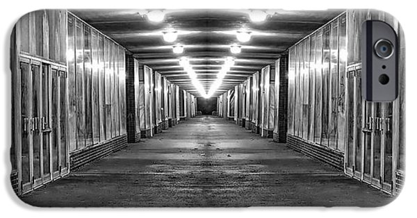 Abandoned Strip Mall Panoramic IPhone Case by Tom Mc Nemar