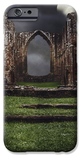 Abbey Steps IPhone Case by Amanda And Christopher Elwell