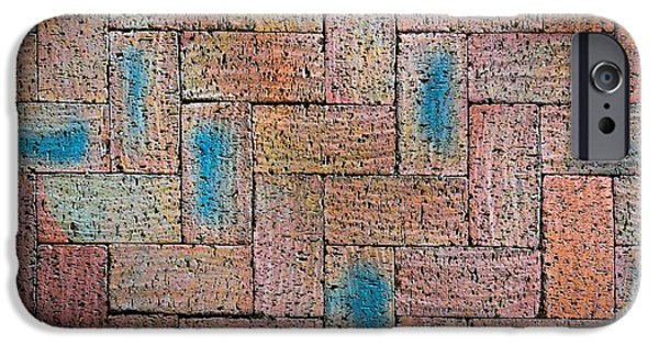 Abstract Burnt Bricks IPhone Case by Jozef Jankola