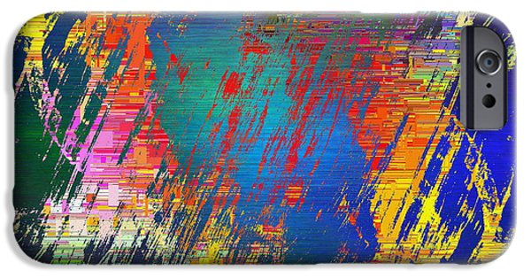 Abstract Cubed 83 IPhone Case by Tim Allen