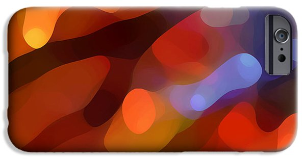 Abstract Fall Light IPhone Case by Amy Vangsgard