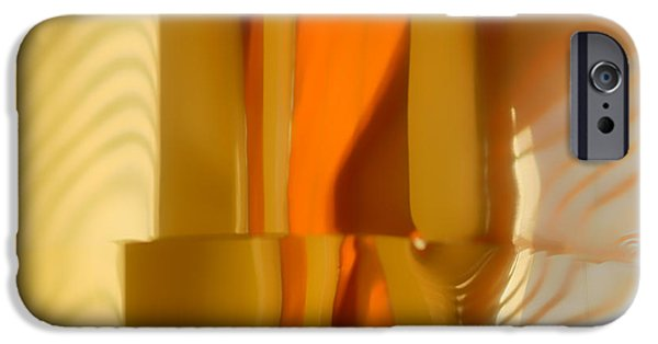 Abstract In Brass - 4 - Historic Library Building - Omaha Nebr IPhone Case by Nikolyn McDonald
