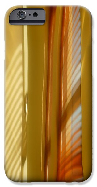 Abstract In Brass 5 - Historic Library Building - Omaha Nebr IPhone Case by Nikolyn McDonald