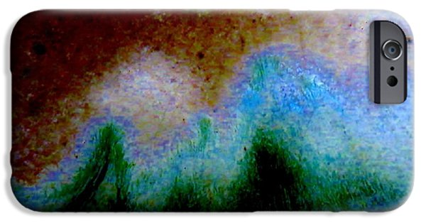 Abstract Landscape IPhone Case by Tim Townsend