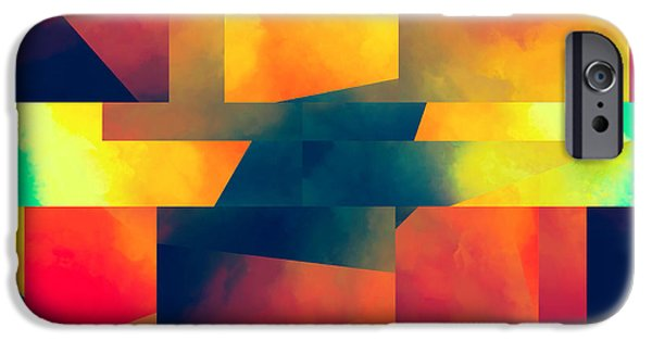 Abstract Movement IPhone Case by Lonnie Christopher