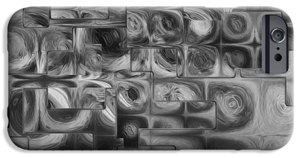 Abstract Squared IPhone Case by Jack Zulli