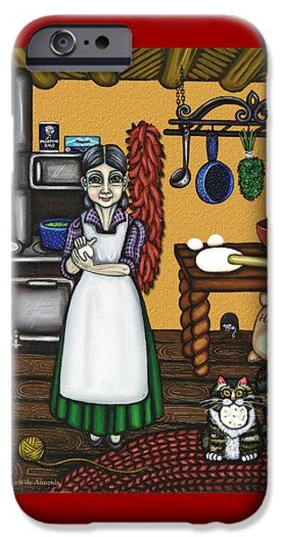 Abuelita Or Grandma IPhone Case by Victoria De Almeida