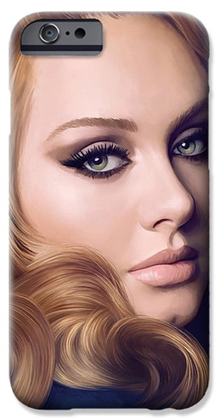 Adele Artwork  IPhone 6s Case by Sheraz A