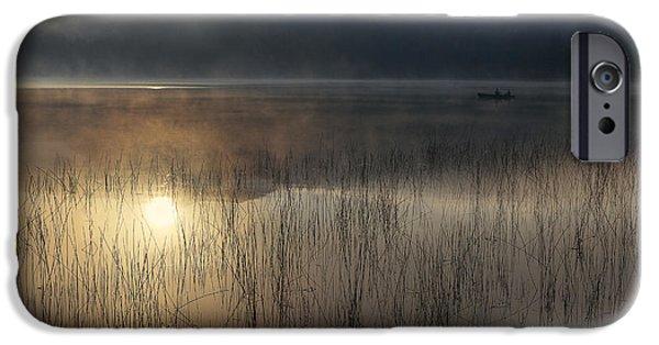 Adirondack Sunrise IPhone Case by Magda  Bognar
