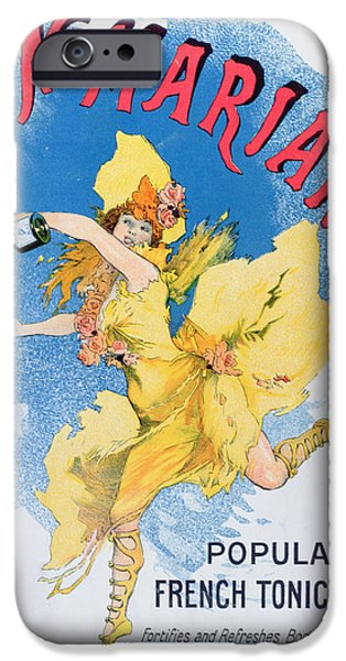 Advertisement For Vin Mariani From Theatre Magazine IPhone Case by English School