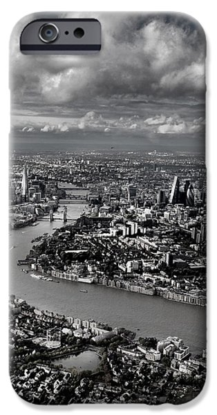 Aerial View Of London 4 IPhone 6s Case by Mark Rogan