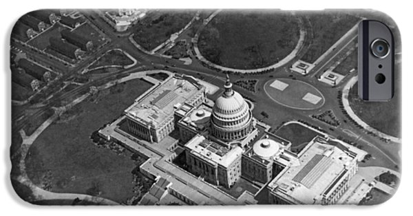 Aerial View Of U.s. Capitol IPhone 6s Case by Underwood Archives