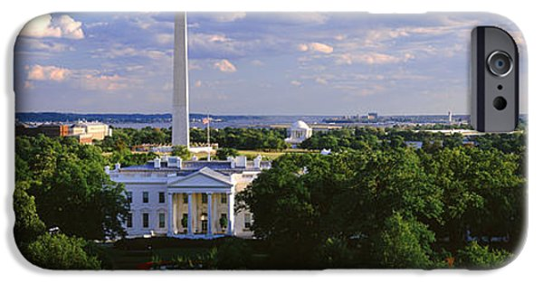 Aerial, White House, Washington Dc IPhone 6s Case by Panoramic Images