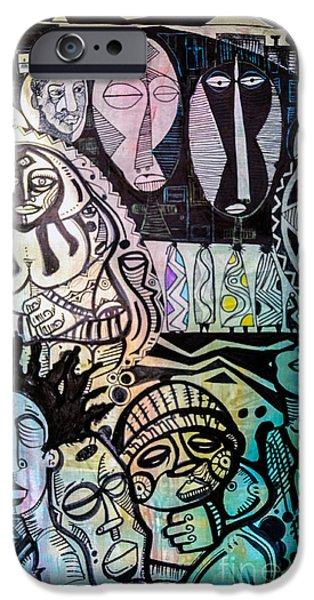 African Village IPhone Case by Robert Daniels