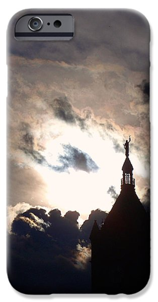 After The Rain IPhone Case by Rona Black