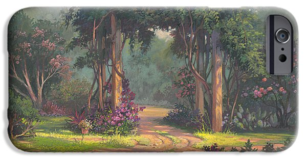Afternoon Arbor IPhone Case by Michael Humphries