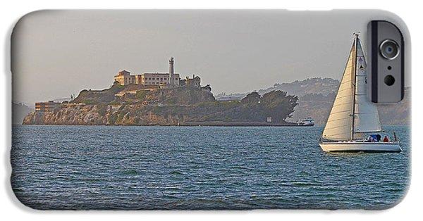 Alcatraz Island IPhone Case by Jack Schultz